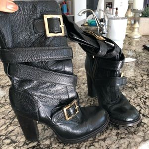 Tory Burch Jaden mid calf boots